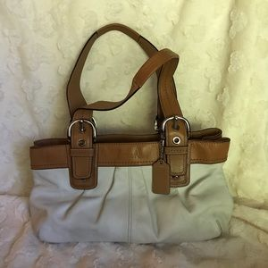 Coach F13732 leather bag